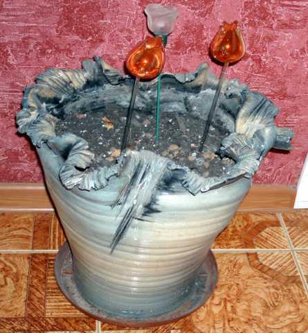 Продам Вазон керамический большой