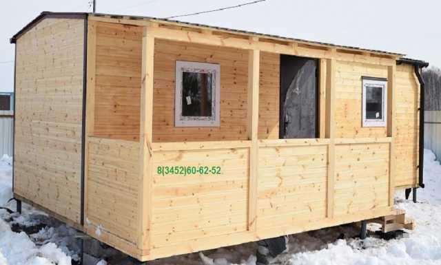 Продам: Дачные домики от 5630 рублей за кв.м