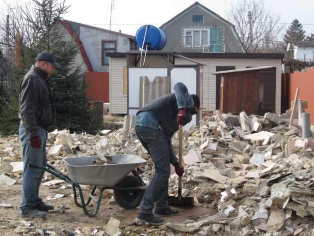 Предложение: Рабочие до 100 чел снег, мусор