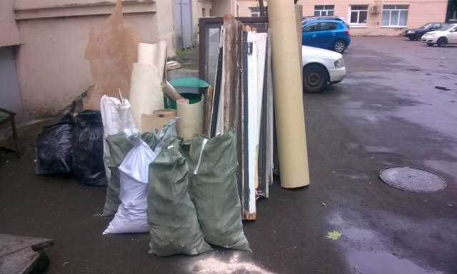 Предложение: Вывоз мусора на свалку в день обращения