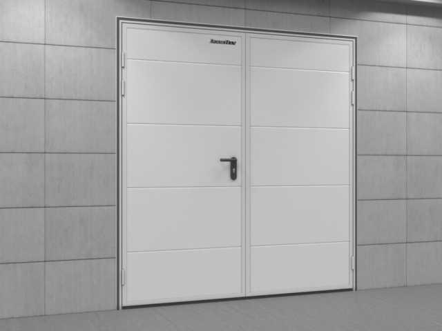 Продам Двери технологические двустворчатые