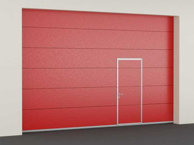 Продам: Ворота противопожарные секционные