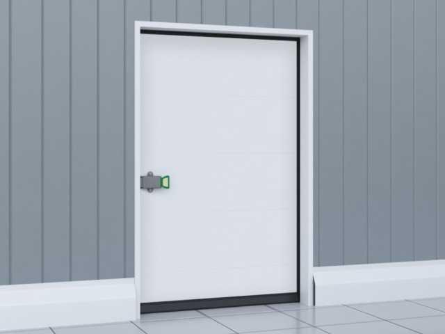 Продам Дверь распашная для охлаждаемых помещени