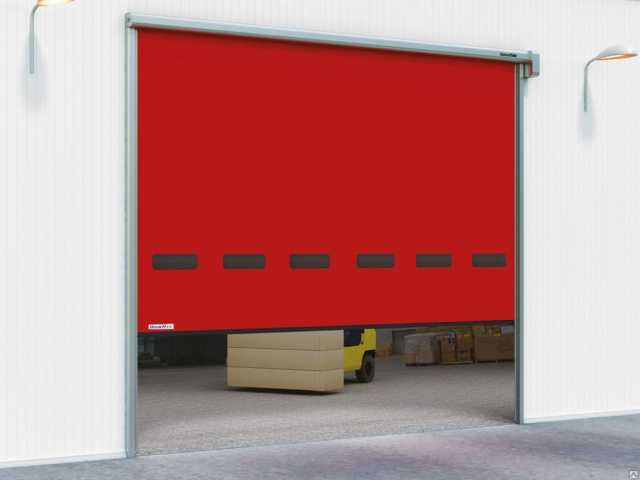 Продам: Скоростные рулонные ворота для наружного