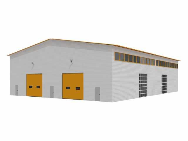 Продам: Строительство каркасных зданий