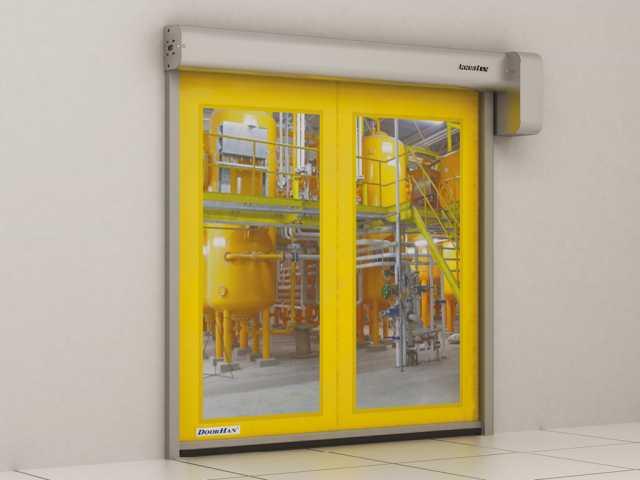 Продам: Скоростные рулонные ворота для пищевой п