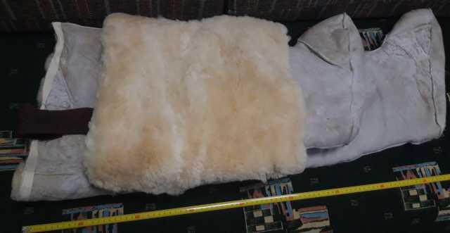Продам Шуба овчиная ботфорты