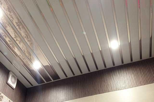 Продам: Потолок реечный подвесной алюминиевый