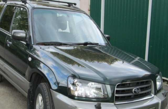 Продам Subaru, Forester 2005г. тёмно зеленого ц