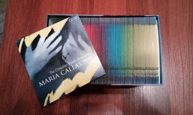 Продам Maria Callas Complete Studio Recording