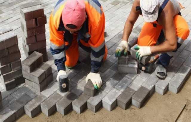 Вакансия: Укладчик тротуарной плитки/брусчатки