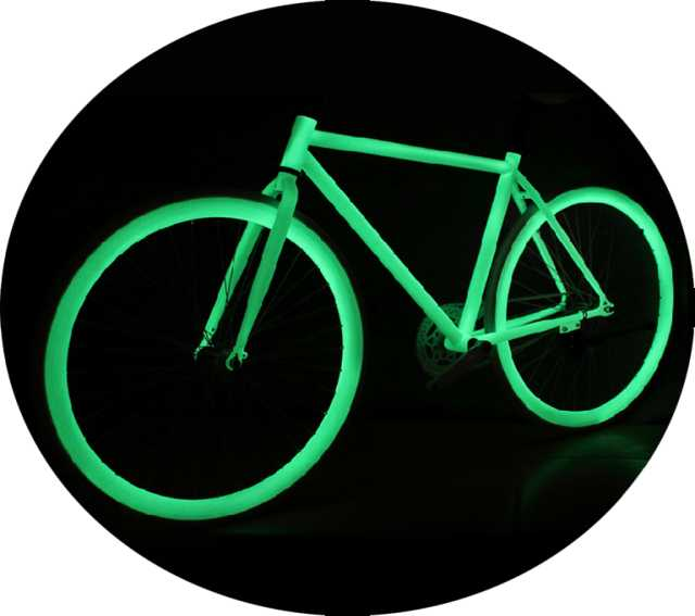 Продам Светящаяся краска  для велосипеда