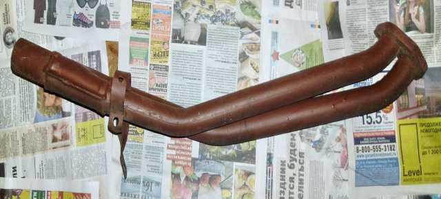 Продам: труба приемная глушителя в сборе (штаны)