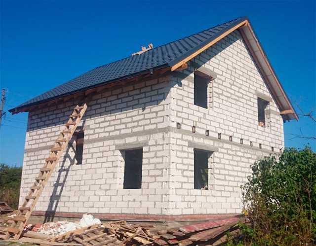 Предложение: Строим дом из пеноблоков