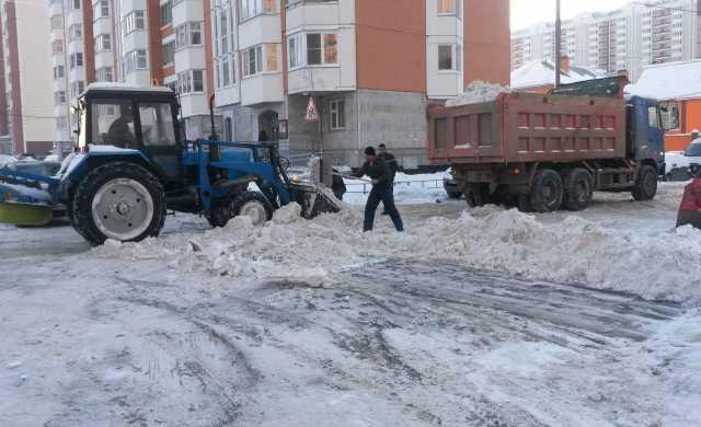 Предложение: уборка снега погрузчиком. вывоз снега