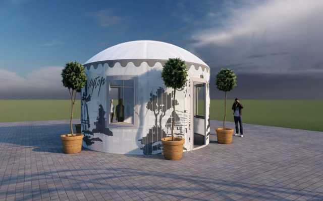 Предложение: Шатер павильон летнее кафе