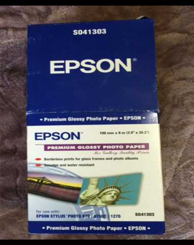 Продам Рулон бумаги Epson S041303 Premium Gloss
