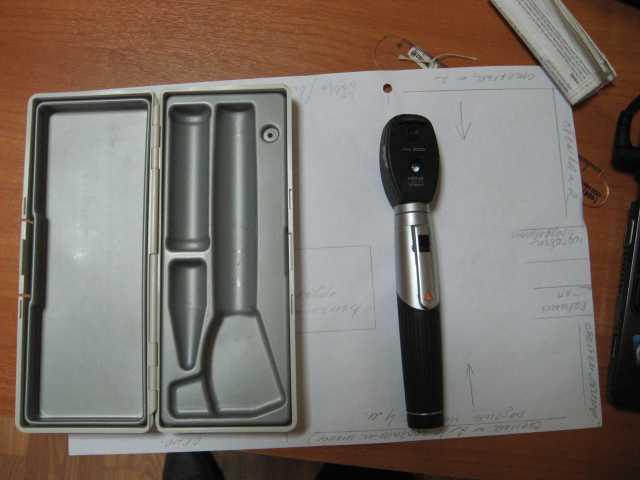 Продам: ручной офтальмоскоп heine 3000 mini