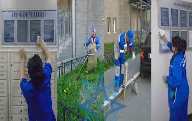Предложение: Уборка территории,зданий,офисов