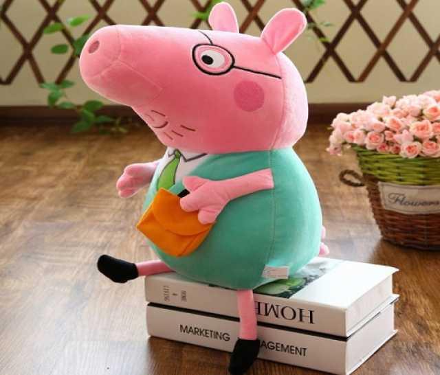 Продам Мягкая игрушка Свинка Пеппа папа ( 55 см
