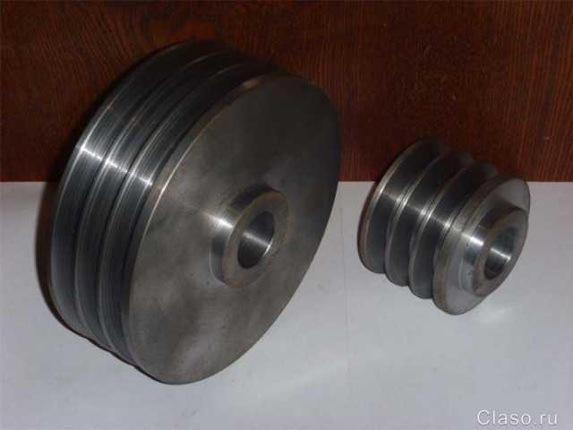 Продам Шкив стальной, чугунный. Изготовление