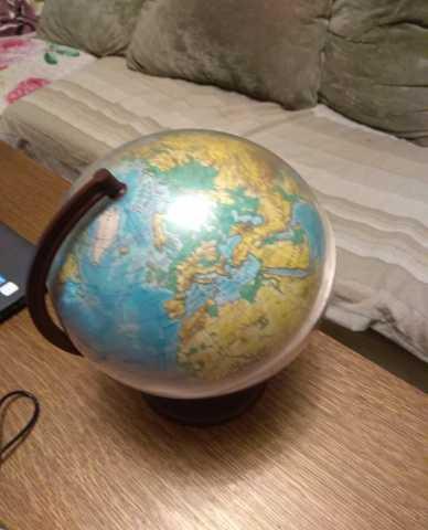 Продам Глобус земли географический