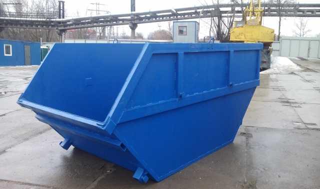 """Предложение: контейнер - бункер """"лодка"""""""