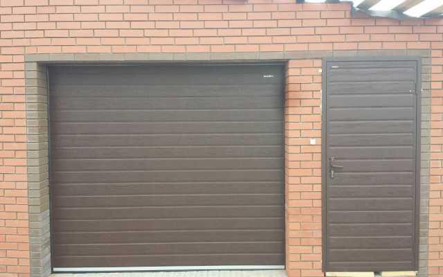 Продам: Секционные автоматические гаражные ворот