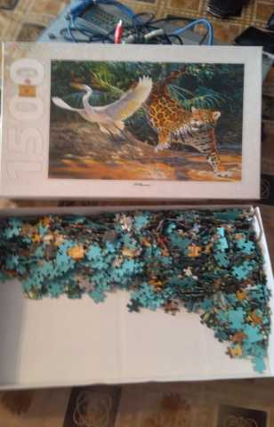 Продам Пазл puzzle art collection 1500 штук