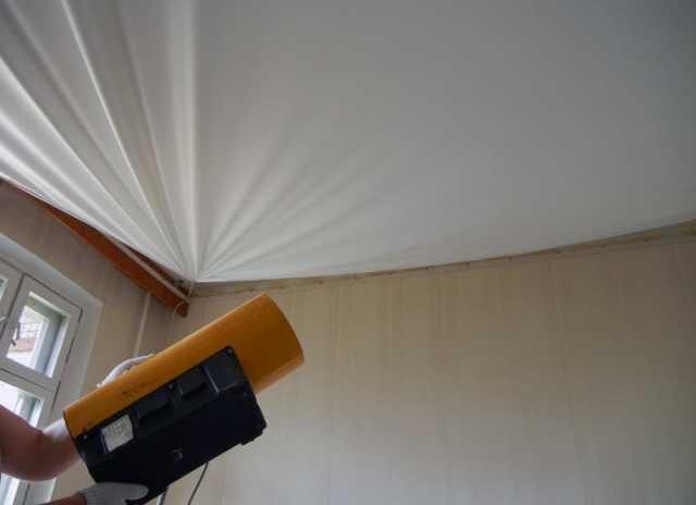 Предложение: монтаж натяжных потолков