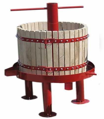 Продам Пресс для винограда дубовый, винтовой 50