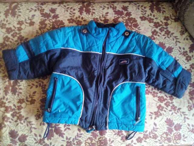 Продам Куртка для мальчика б\у 1-2 года