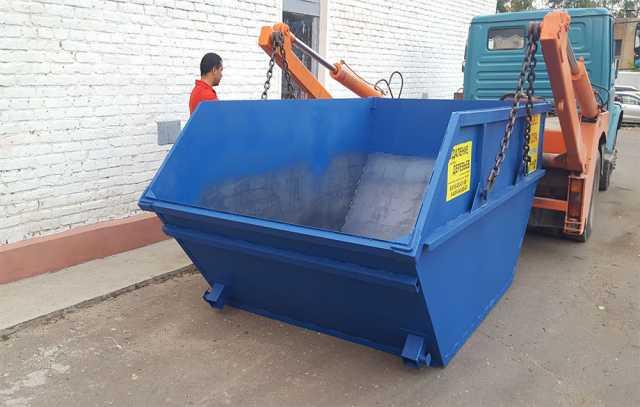 Предложение: Вывоз мусора, бункер -контейнер ЛОДКА