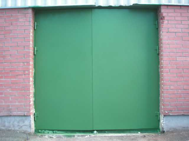 Предложение: Гаражные ворота, сварка, бамперы, пороги