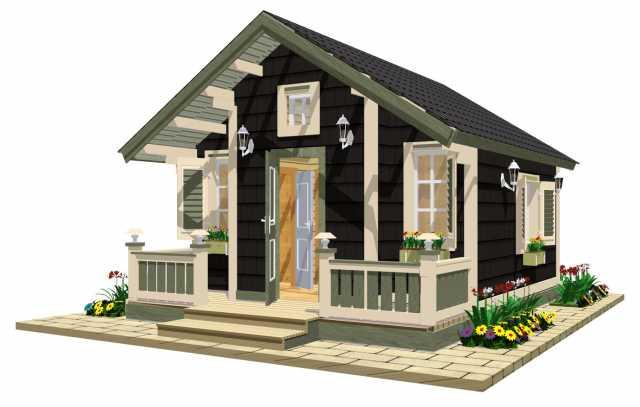 Предложение: Дачные домики TEREMDOM