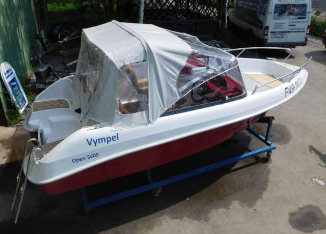 Продам Катер Vympel 5400+мотор Yamaha F100FETL