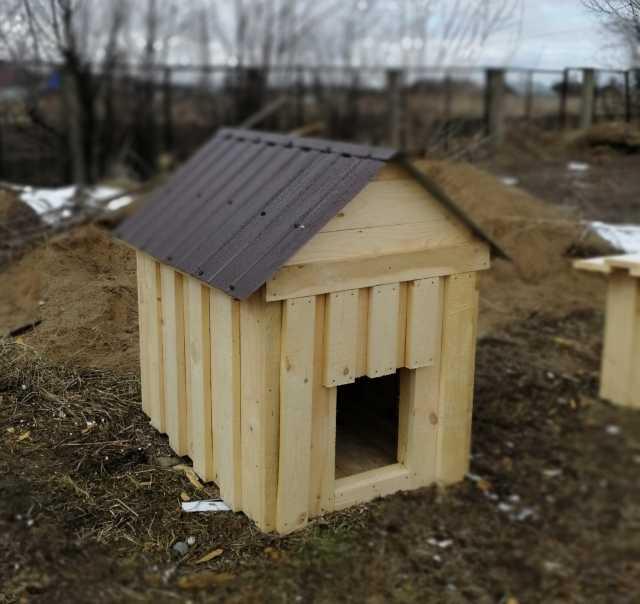 Продам Деревянные  будки, конуры для собак