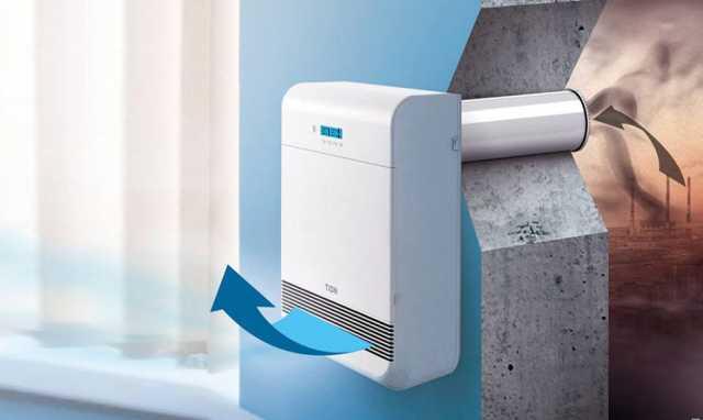 Продам: Компактное вентиляционное устройство