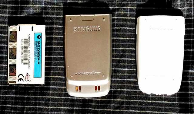 Продам 3 батареи литиевые к Motorola & Samsung