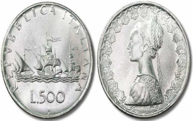 Продам: Монеты Италии в тч Корабли Колумба