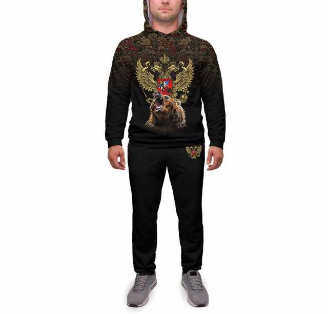Продам Спортивный костюм Медведь и герб XS-5Lр