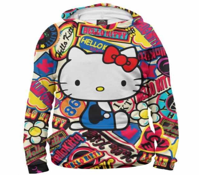 Продам Худи для девочки Hello Kitty 104-158р