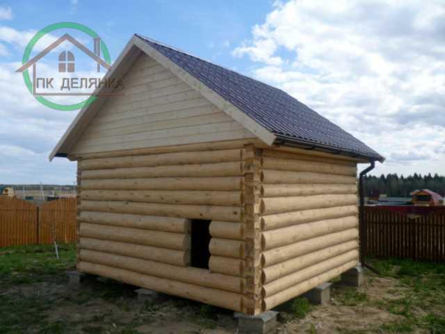 Продам Срубы бань и домов из бревна