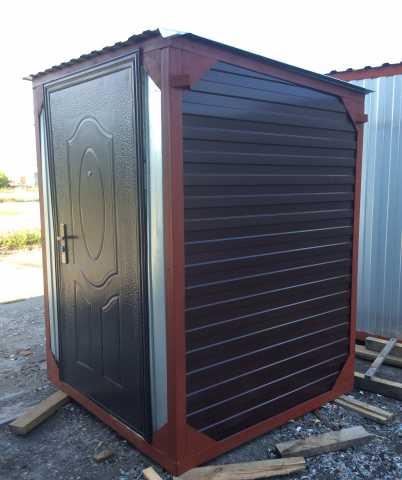 Продам Туалет уличчный металлический