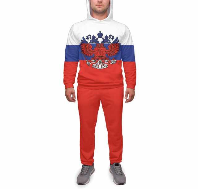 Продам Спортивный костюм Триколор и герб XS-5Lр