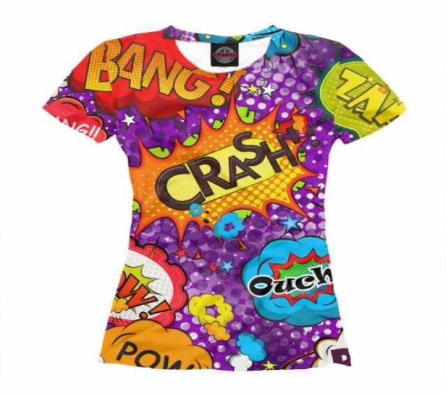 Продам: Женские футболки POP-ART 40-58р