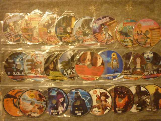 Продам Игровые диски из журналов