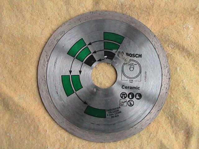 Продам диск алмазный Bosch для мрамора,керамики