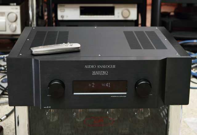 Продам усилитель Audio Analogue Maestro Settant