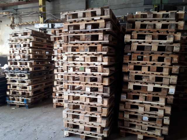 Продам Поддоны деревянные б/у 1000х1200мм